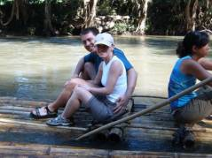Us on the raft