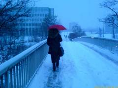 Nice snowy weather, like we wanted with Christmas ;-)