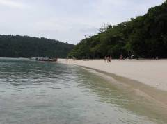 The beach of Koh Rok