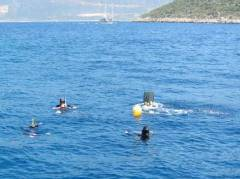 deep diving exam (15 meter)