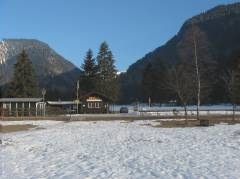 Panorama view on plansee camp