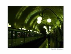 Don't ask me why, but I just loved the subway in paris. Very old, lots of atmosphere...