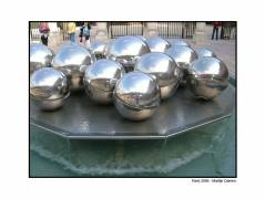 A modern fountain, just enjoy the picture