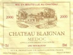 CHÂTEAU BLAIGNAN / Cru Bourgeois